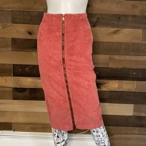 We The Free by Free People Corduroy Skirt